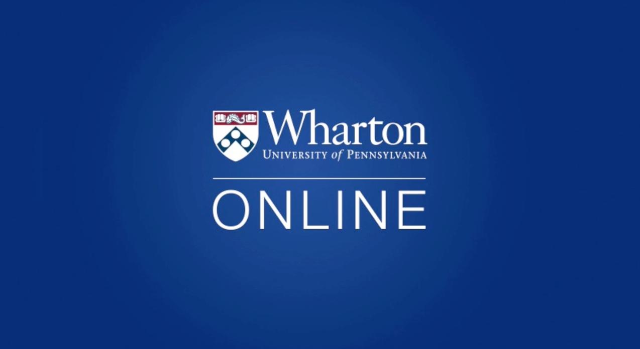 wharton online learning