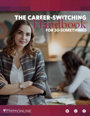 The Career-Switching Handbook for 30-Somethings Cover
