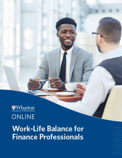 Work-Life Balance for Finance Professionals