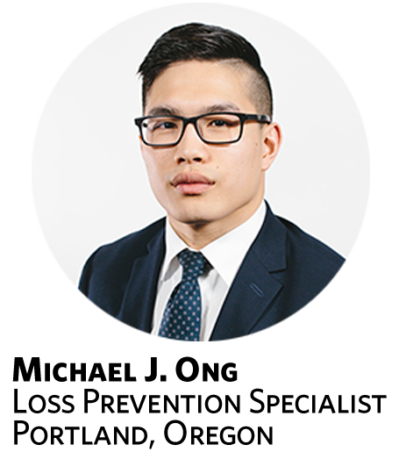 Michael J. Ong, Loss Prevention Specialist